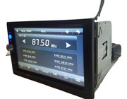 Автомагнитола 2Din 7023 GPS 7 Bluetooth. Пульт на руль. Магнитола 7023 с GPS и Bluetooth