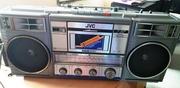 Магнитола,  винтажный магнитофон SHARP GF-560Z(D),  JVC RC-770l,  WILMAX